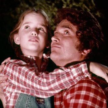 『大草原の小さな家』時代のメリッサと故マイケル・ランドン。