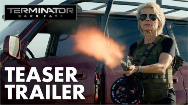 画像:『YouTube / Terminator: Dark Fate - Official Teaser Trailer  – Trailer』のサムネイル