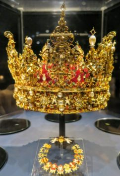 クリスチャン4世の王冠(Photo by 朝比奈)