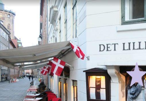 ストロイエのレストラン「Det Lille Apotek」へ(Photo by 朝比奈)