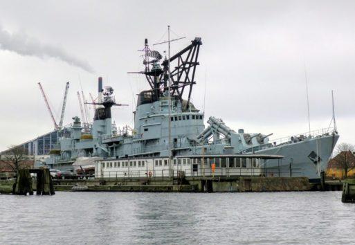 軍艦としてはすでに退役するも沿岸警備には当たるのだとか(Photo by 朝比奈)