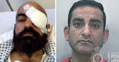 画像:『METRO』Taxi driver blinded by thug who shoved metal pole into his eye(Picture: Media Wales)