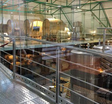 工場も洗練された雰囲気(Photo by 朝比奈)