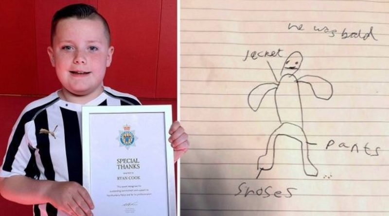 画像:『METRO』Boy, 10, drew picture that identified stranger trying to get through school gate(Picture: North News)
