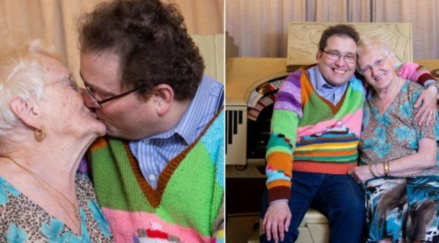 画像:『METRO』Couple with 40-year age gap still together and have happy sex life(Picture: SWNS)