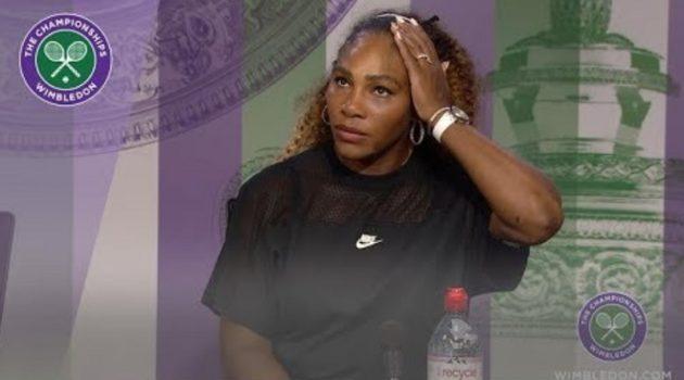 画像:2019/07/04に公開YouTube『Wimbledon-Serena Williams Wimbledon 2019 Second Round Press Conference』のサムネイル