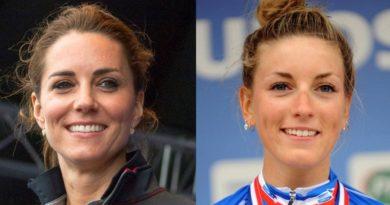 <セレブ★激似でSHOW>エクボ美人のフランス女子自転車競技選手がキャサリン妃そっくり!
