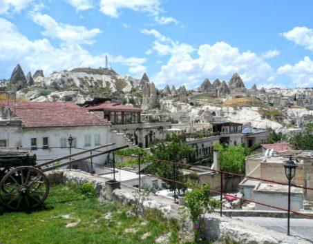 トルコのカッパドキアで洞窟ホテルに宿泊(Photo by 佐藤めぐみ)