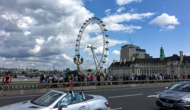 ロンドン・アイ残念ながら未体験です(Photo by 朝比奈)