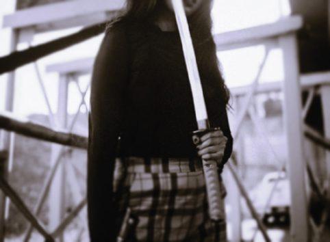 【日本刀で恋人を…。(画像はイメージです)】