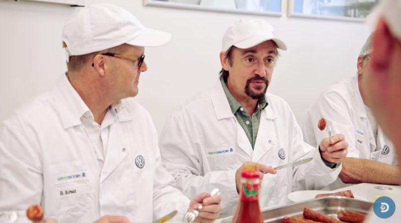 画像:Discovery UK『YouTube』Volkswagen's Factory Produces More Sausages Than They Make Cars Worldwide | Richard Hammond's Bigのスクリーンショット