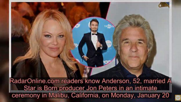 画像:2020/01/24に公開YouTube『Live News 247―Pamela Anderson's Son Brandon Thomas Lee Reacts To Her Wedding』のサムネイル